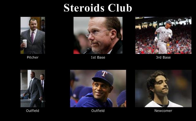 mlb players steroids 2013