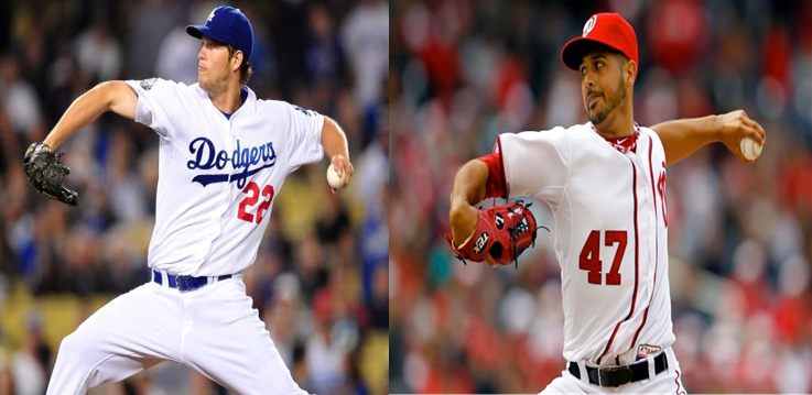 kershaw vs gonzalez