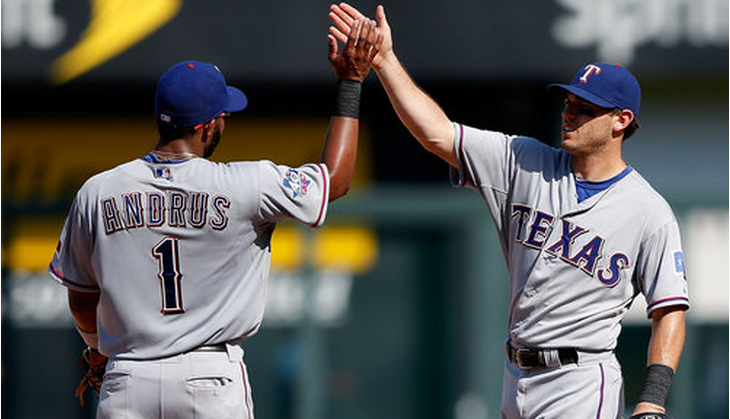 ian kinsler and elvis andrus 2012 mlb texas rangers