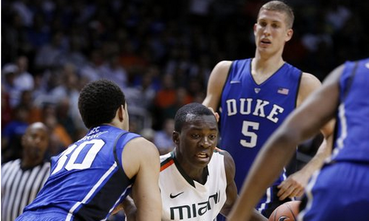 miami vs duke acc basketball