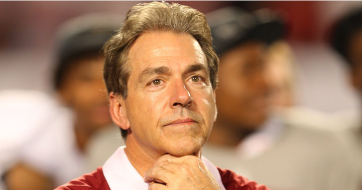nick saban recruiting